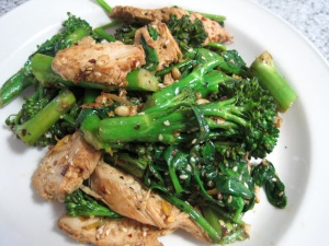 Oct13 Chicken Broccolini Salad